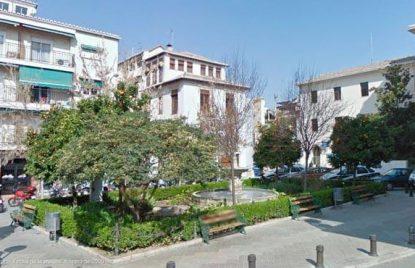 Plaza de los campos Elíseos de Granada