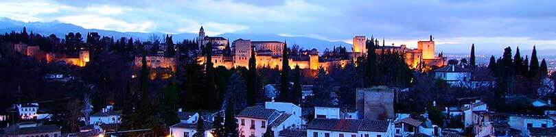 Abaicín y Sacromonte en Granada
