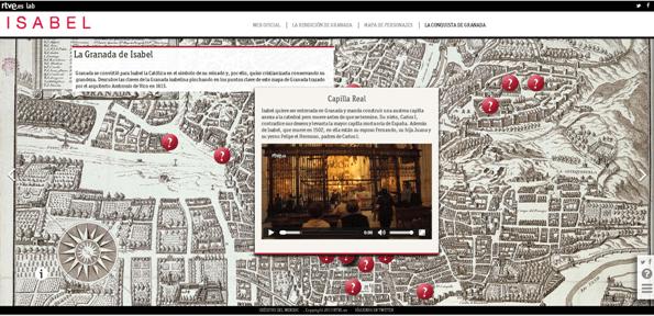 mapa isabel en granada
