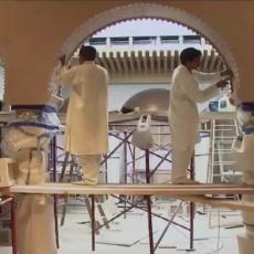 How to built a Medieval Palace like the Alhambra in the 21st Century