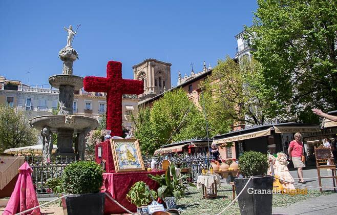 Cruces de Mayo en Bibrambla