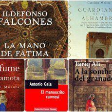 5 libros ambientados en Granada que no te puedes perder