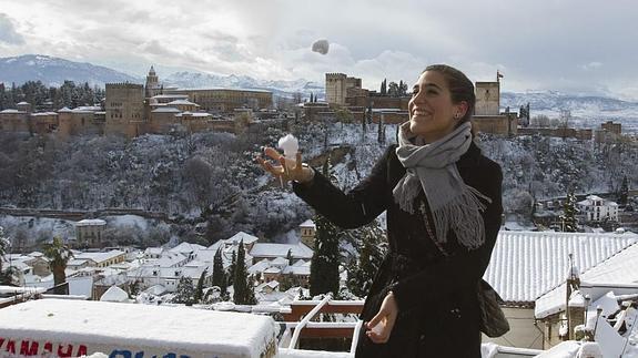 Mirador de San Nicolás con Nieve