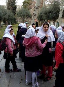 Escolares en Irán