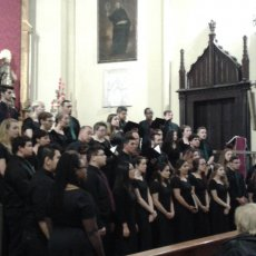 The Wagner College Choir in Granada