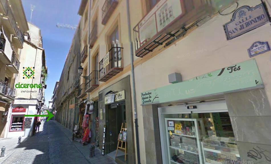 Cicerone Calle San Jeronimo