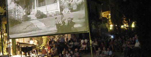 Noches de cine de verano en Granada