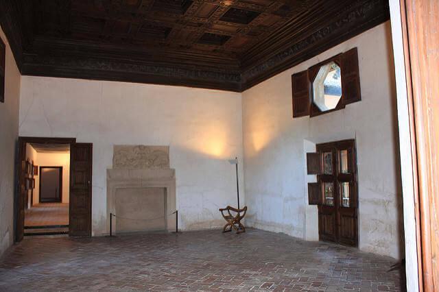 Alhambra habitación Washingotn Irving