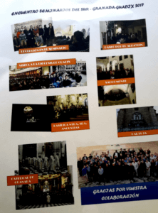 Thank you letter by Seminario mayor de Granada to Cicerone