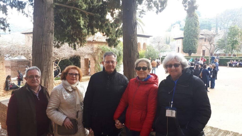 cruz Roja España en la Alhambra cicerone