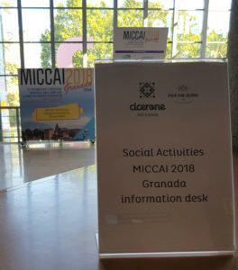 Picavey y Cicerone en Miccai 2018