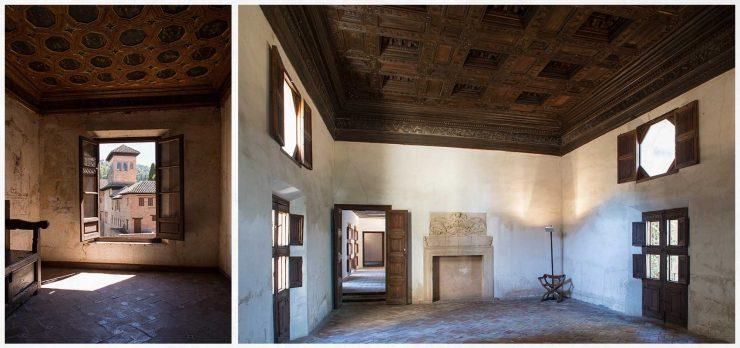 habitaciones de Washington Irvin en la Alhambra