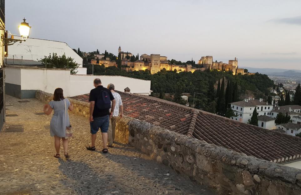 L'Albaicín et le Sacromonte en visite privée