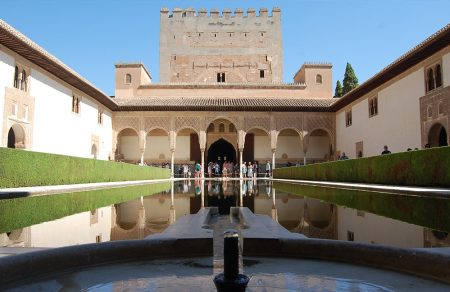 Court of the Myrtles. Alhambra