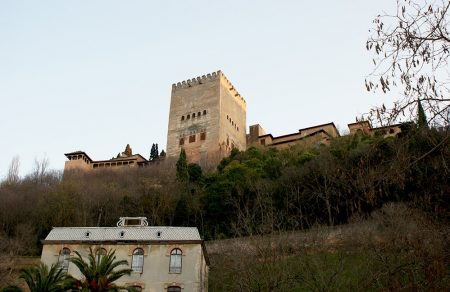 The Alhambra from Paseo de los Tristes