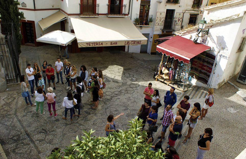 Groups in the Albaicin