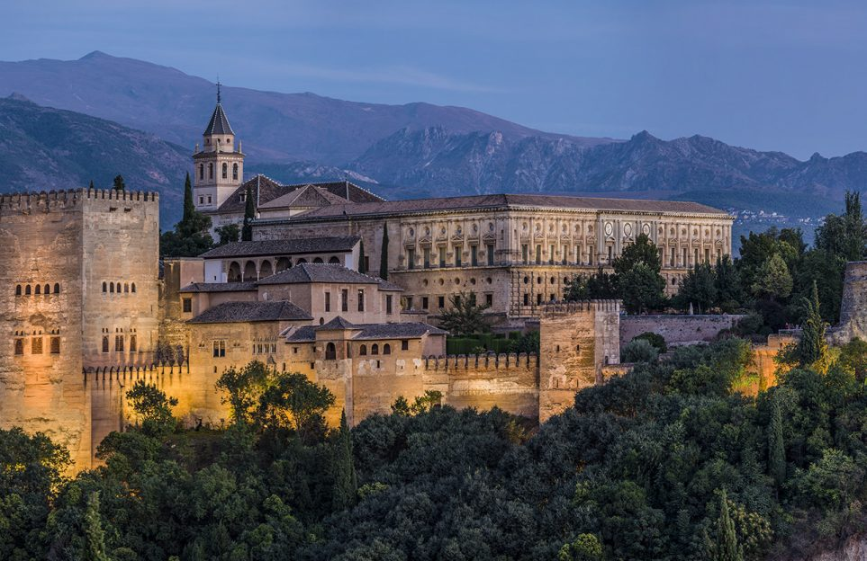 View of the Alhambra from mirador