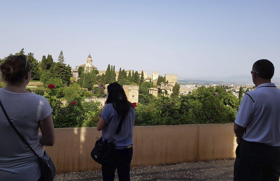 Alhambra et Generalife, visite guidée pour groupes réduits