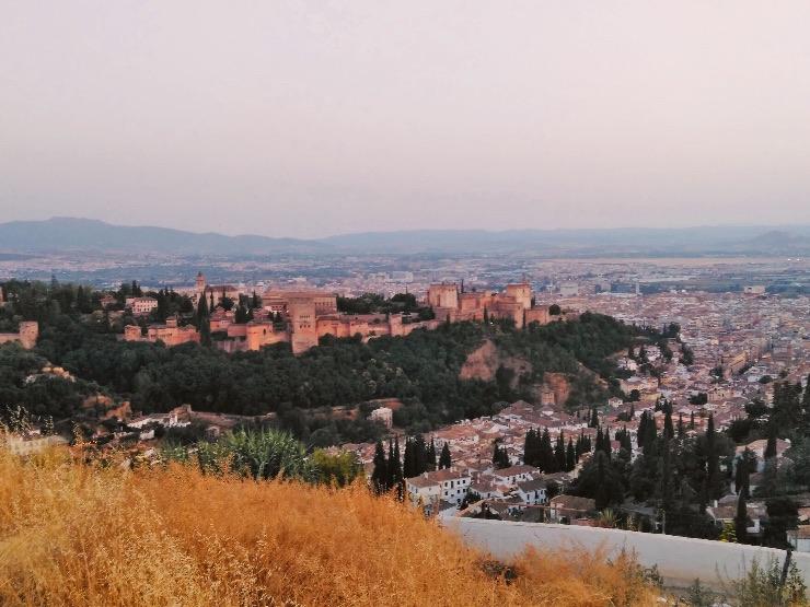 vistas de Granada desde el Albaicín