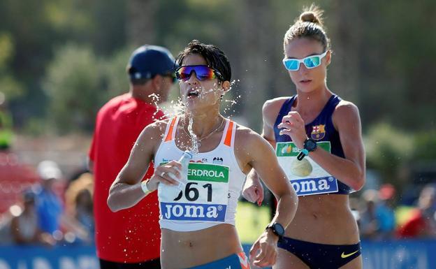 athlete sponsored by Cicerone Granada
