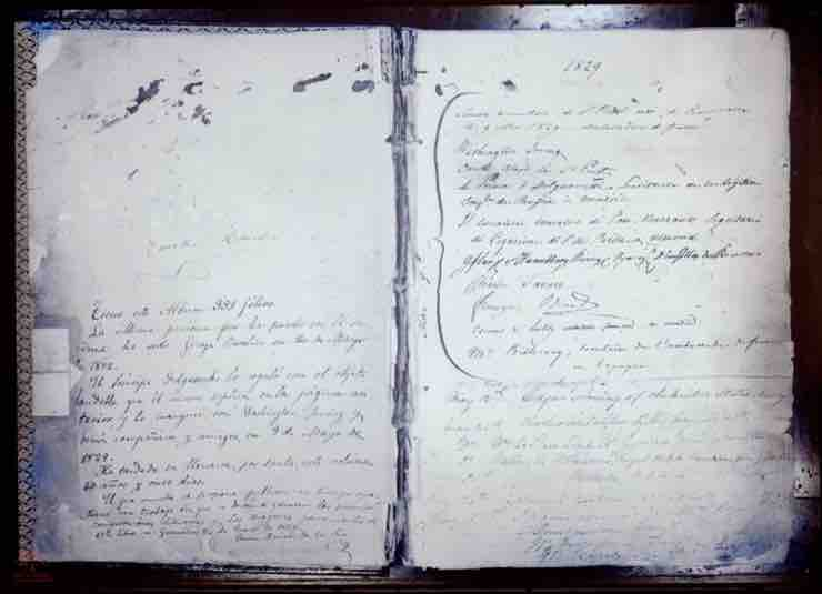 Alhambra signatures book