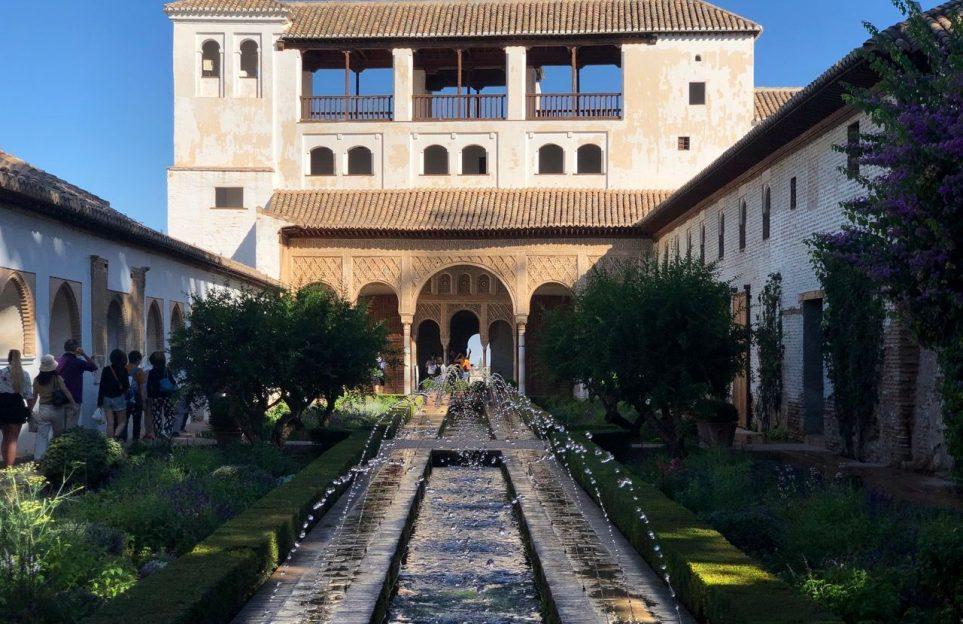 Generalife patio
