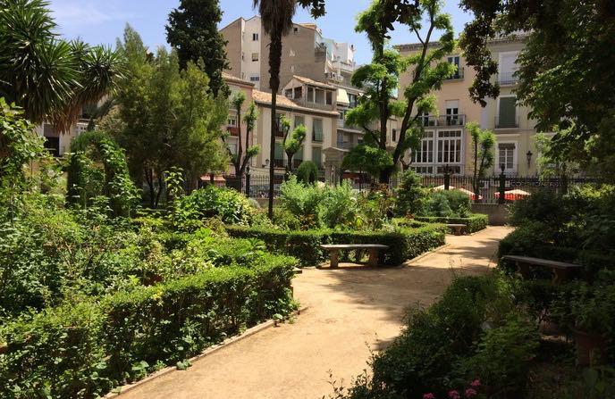 jardín botánico de granada en familia