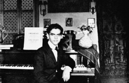 Federico Garcia lorca and jazz music piano