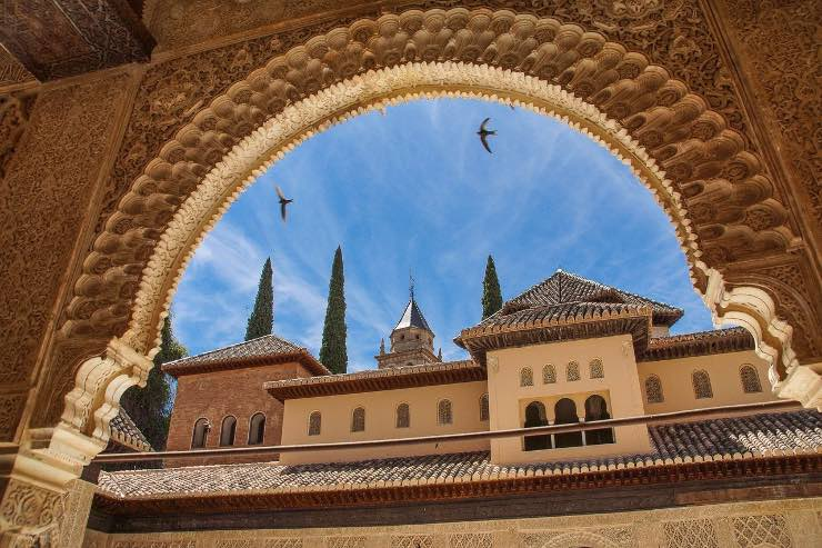 Alhambra sky