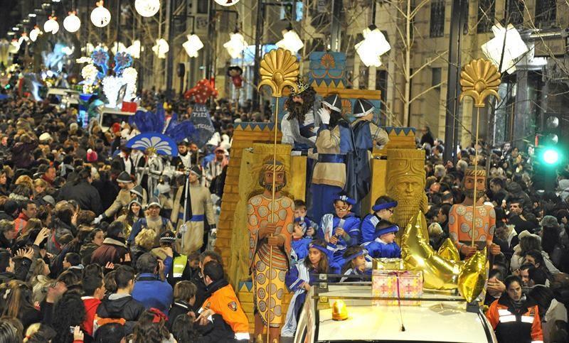 Cabalgata Reyes Magos en Granada