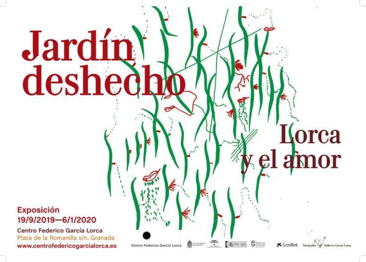 tour guiado de cicerone a la exposición jardín deshecho Lorca y el amor