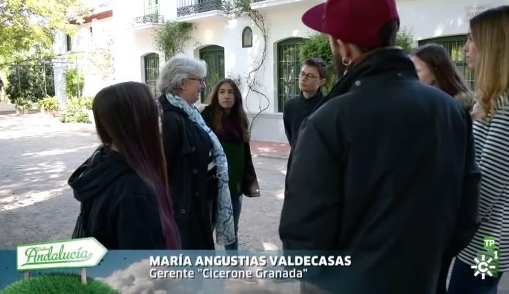 CEO de Cicerone Granada en Destino Andalucía de Canal Sur