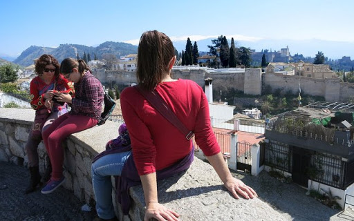 san Cristobal viewpoint in granada