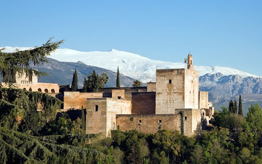 views from Santa Isabel la real viewpoint in granada