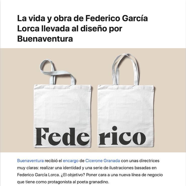 proyecto ilustraciones sobre Lorca con buenaventura en la revista gráfica