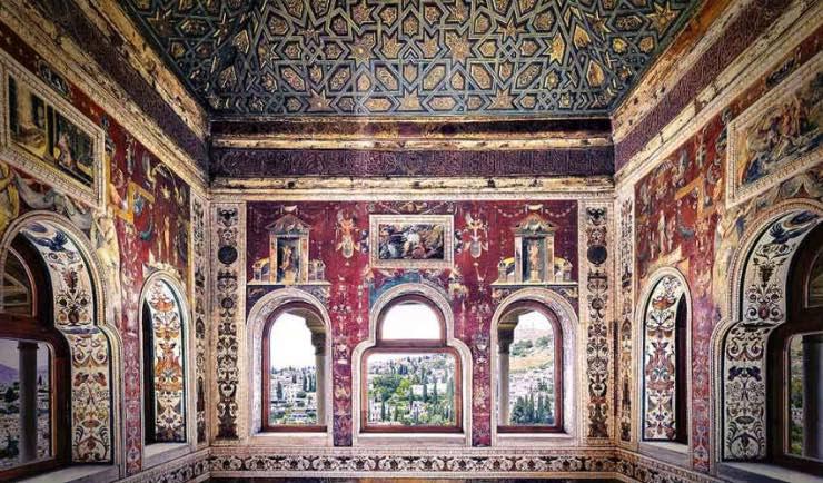 el peinador de la reina espacio cristiano en la alhambra