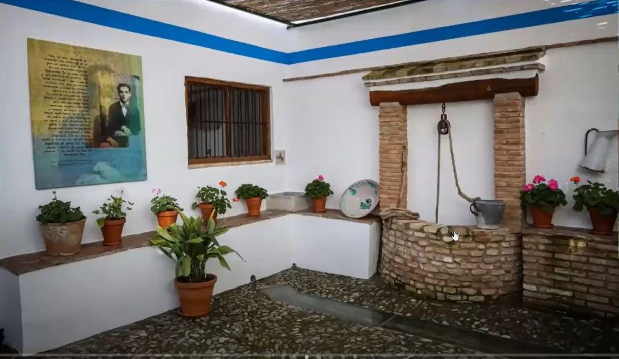 Casa de Federico García Lorca en Fuente Vaqueros