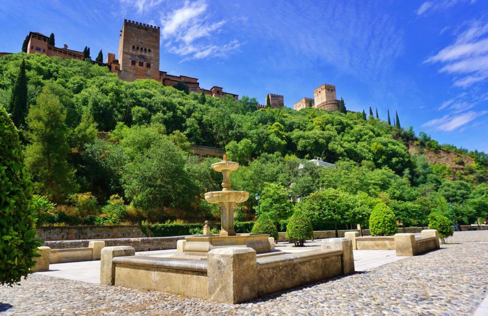 Senderismo cultural alrededor de la Alhambra: la colina de la Sabika