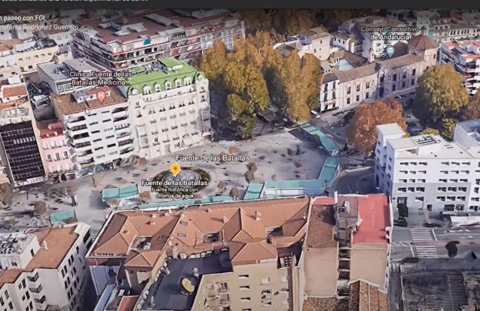 View of Fuente de las Batallas