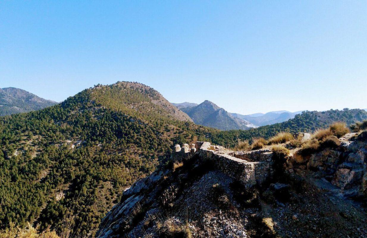 vistas ruta Alfacar y Víznar