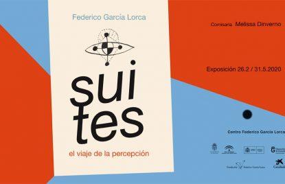 cartel de la muestra guiada por la exposición suites en el Centro Federico García Lorca
