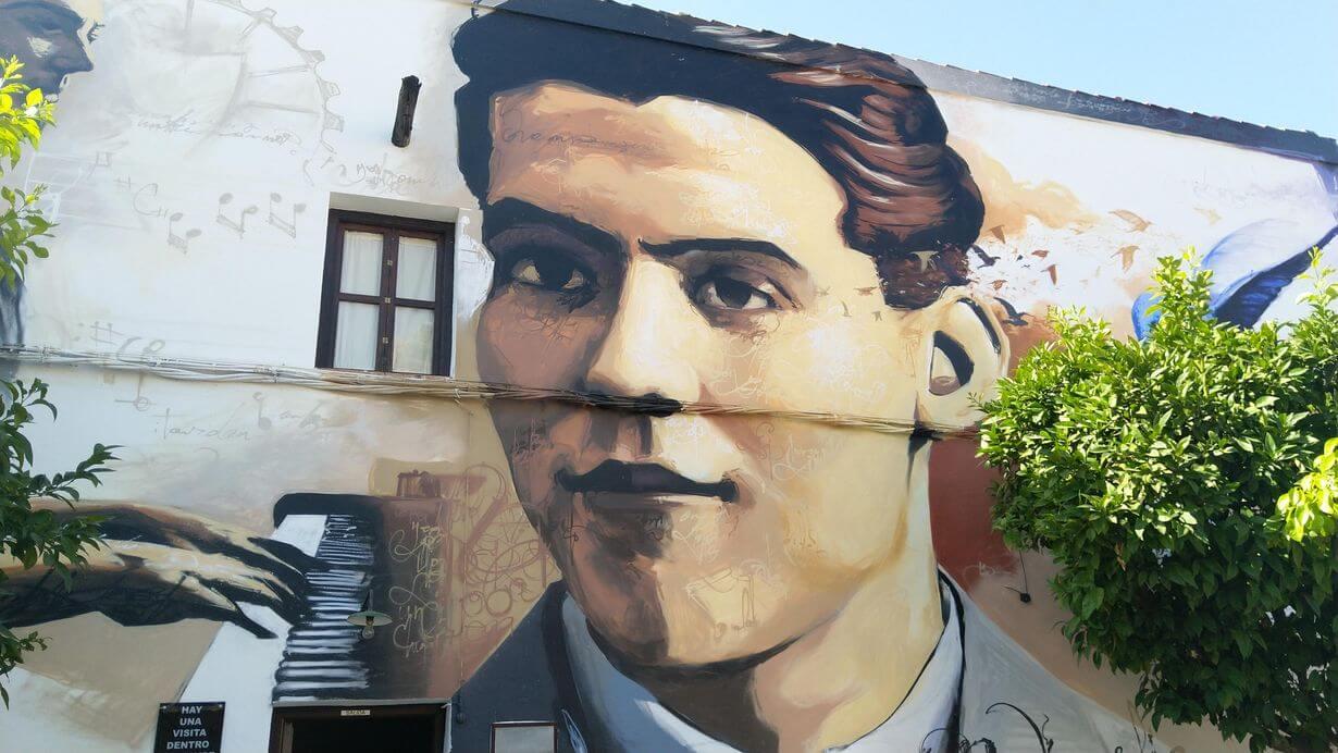 Graffiti museo casa natal Lorca