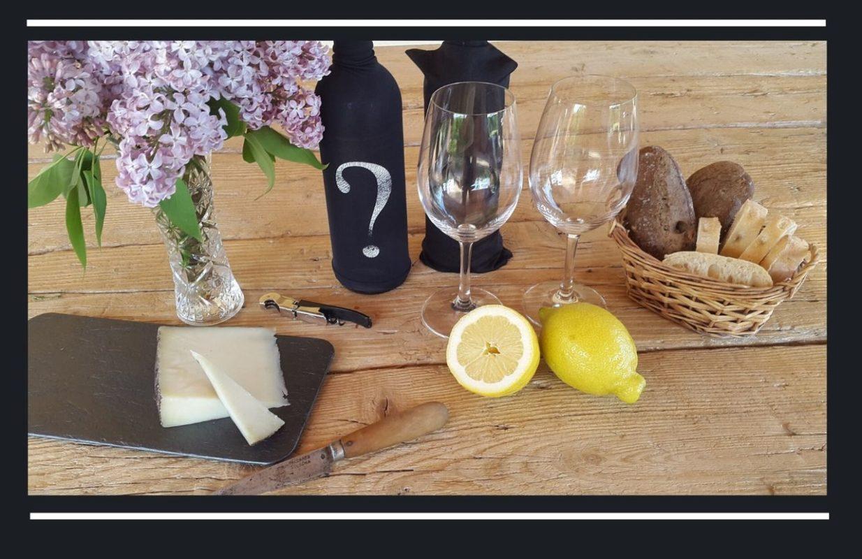 Mesa para catar vino