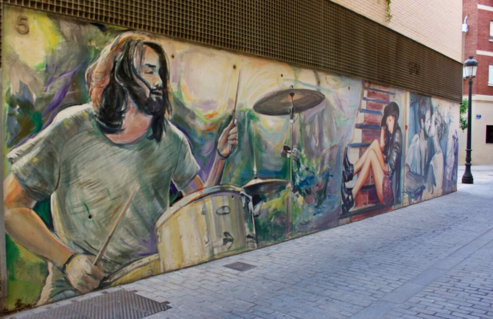 Visita guiada online Valencia virtual Street art