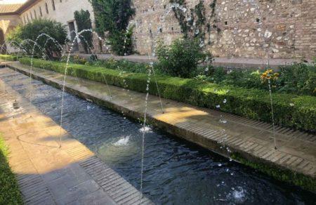 El agua de la Alhambra