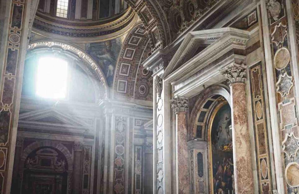La Basílica de San Pedro del Vaticano. Tour virtual