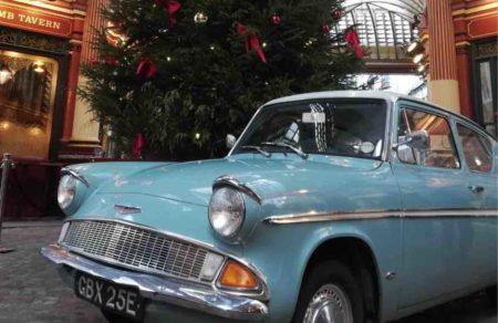 coche de Harry Potter