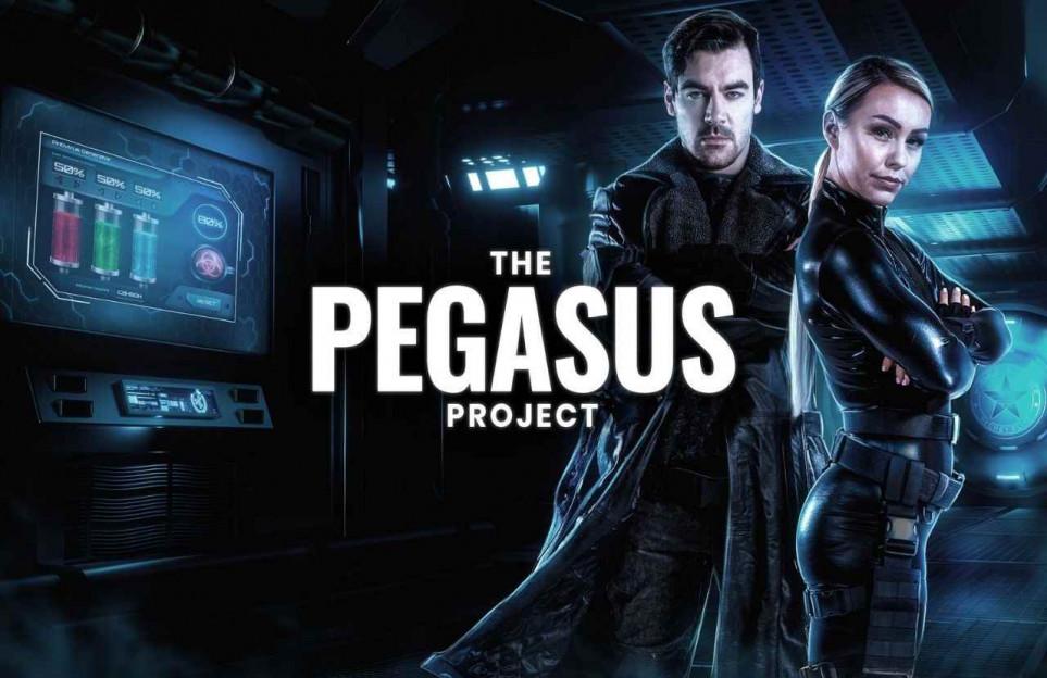 Escape room privado online: Proyecto Pegasus