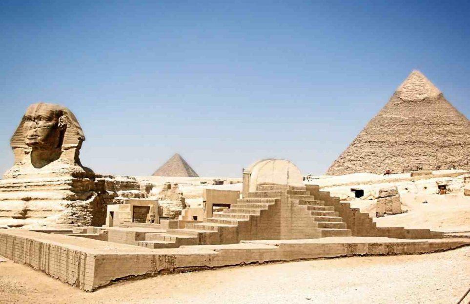 Las Pirámides. Tour virtual