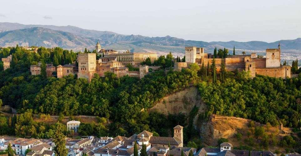 Granada panoramic view